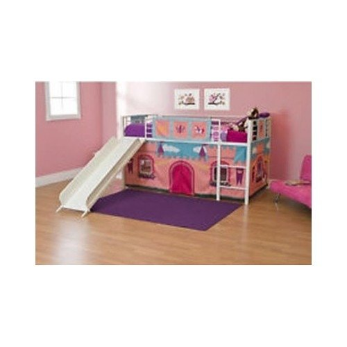 toddler tent bed with slide