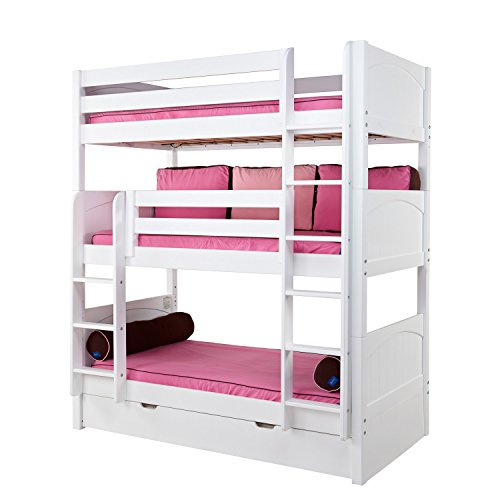 Triple BUNKBED In Light By Maxtrix Kids Calls This Edition The Holy Youngsters Bunk Bed Offers So Many Wonderful