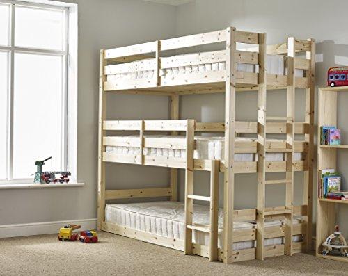 10 Best Triple Bunk Beds Reviews Best Kids Furniture Deals