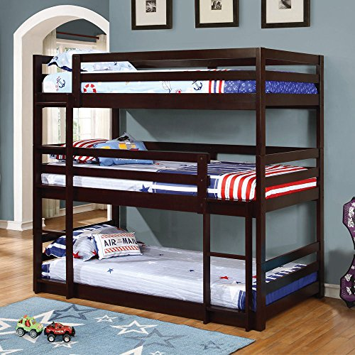 10 Best Triple Bunk Beds Reviews Kids Furniture Deals