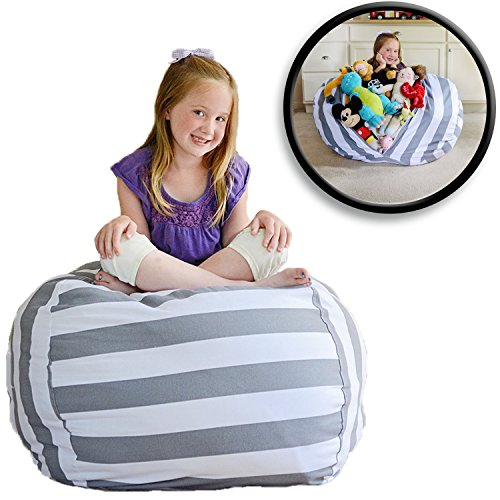 Stuff Storage Bean Bag Which Is A New Revolution For Parents Who Wants Kids To Tidy Up Fast And Keeps Their Own Soft Toys Yes Tidier Than Ever